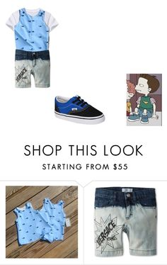 """""""Bobby Truth or Consequences Basketball Video"""" by brainyxbat ❤ liked on Polyvore featuring Young Versace and Vans"""