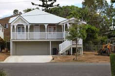 Renovation- Week We're In!Renovation- Week all got to go! Queenslander, Exterior Colors, House Party, Home Renovation, Grass, Home And Family, To Go, Shed, Outdoor Structures