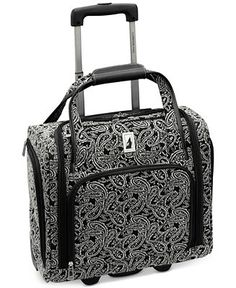 London Fog Greenwich 15 Rolling Personal Case, Only at Macy's - Duffels & Totes - luggage & backpacks - Macy's