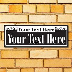 New Orleans Style Personalized Street Sign Your Text Here Customized Metal Sign Bourbon Street Rustic Sign Surf To Summit 2016 (999-00134)
