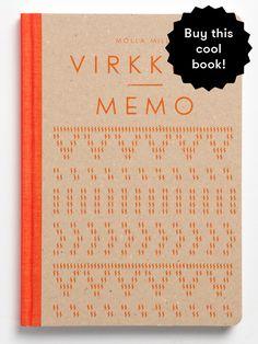 Virkkuri Memo, design your own crochet pattern. Molla Mills for Putinki