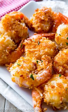 This is the best coconut shrimp recipe I've tried and you won't believe how easy it is!  @sallybakeblog