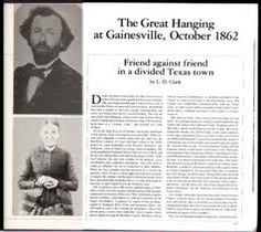 The Great Hanging at Gainesville, October 1862