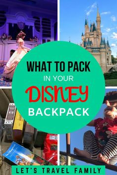 Are you looking for a pack list with ideas on what things to bring to Disneyland? Get your kids ready to see the Disney parks with our list of the best things to bring to Disney World or Disneyland. #disney #disneyland #packinglists #disneyworld
