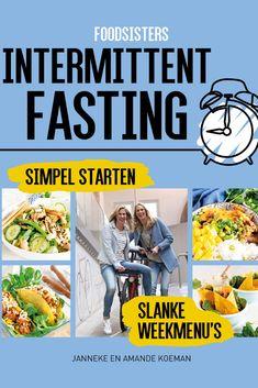 ✨YES!✨ Ons kookboek 'Foodsisters - Afvallen met intermittent fasting ' is te klaar! 🎉🎉🍆 🥒 🥕 Waarom we een kookboek over intermittent fasting hebben gemaakt? Omdat we veel mensen zagen die al redelijk gezond eten, maar toch geen resultaat meer boeken. Dat ligt dat niet altijd aan WAT 🍆 🥒 🥕 je eet, maar soms ook aan WANNEER ⏰⏰⏰ je eet. Met onze weekmenu's leer je op een gezonde en makkelijke wijze het intermittent fasting dieet te volgen.