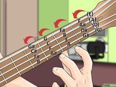 How to Teach Yourself to Play Bass Guitar (with Pictures) #guitarlessons #howtoteachguitar #bassguitar