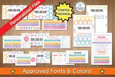 LuLaRoe Starter Package Marketing Kit in Circle 102 by Blue Aspen Studio
