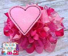 Heart and Star Felties - 2 Sizes! | Valentine's Day | Machine Embroidery Designs | SWAKembroidery.com The Little Stitch Shop