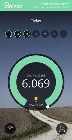 Whoa! Today I've already taken 6.069 steps!  Move more with Breeze Breezeapp.com