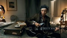 Keith Richards for Louis Vuitton | Annie Leibovitz #leibovitz