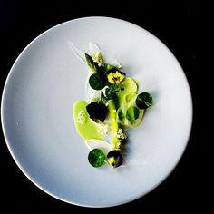 INK restaurant London, Chef Martyn Meid : english asparagus