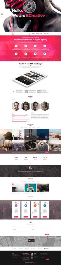 Bcreative - WordPress Creative Theme byCreAtive Web Themes
