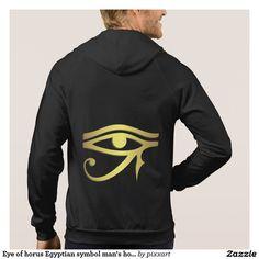 Eye of horus Egyptian symbol man's hoodie