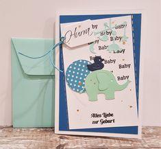Glückwunschkarten - Babykarte Karte zur Geburt - ein Designerstück von POMMPLA bei DaWanda