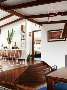 A vibrant, joyful mid century family home in Beaumaris.