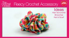 Hair Scrunchies Have fun making hair scrunchies using a brand new yarn! Introducing Red Heart Boutique Fleecy. This is a new yarn line that is made up of fleece and is structured like Sashay. The fleece element to this yarn provides a fun textured look while providing warmth at the …