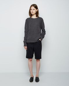// organic by john patrick / combo knit pullover