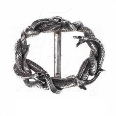 """Boucle de ceinture Alchemy Gothic """"Viper's Nest"""""""
