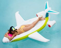 FUNBOY - Luxury Inflatable Pool Floats FUNBOY Private Jet Float - Funboy