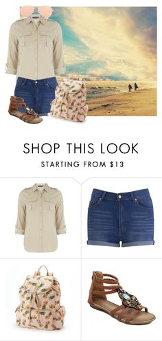 """""""Need a Vacation"""" by rhythmicgoofyworm ❤ liked on Polyvore featuring Dorothy Perkins, Cheap Monday, Candie's and Ray-Ban"""