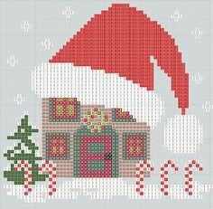 christmas natal punto de cruz noel point de croix