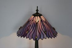 Stained Glass Lamp Tiffany Lamp by AnazieArtDesign on Etsy