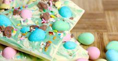 Easter Mini Egg Chocolate Bark