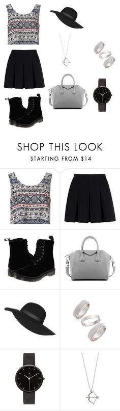 """""""Spring outfit"""" by julia-a-grossman on Polyvore featuring Glamorous, Alexander Wang, Dr. Martens, Givenchy, Topshop, I Love Ugly, women's clothing, women, female and woman"""
