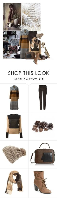 """Cold Winter"" by noconfessions ❤ liked on Polyvore featuring Etro, Weekend Max Mara, rag & bone, BP., Orla Kiely, H&M, Elie Tahari, stripedcoat and panelsweater"