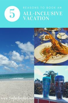 Booking an all-inclusive resort has its advantages. Here are our 5 reasons for booking a stay at an all-inclusive resort. Top All Inclusive Resorts, Best Family Resorts, All Inclusive Family Resorts, Hotels And Resorts, Best Travel Deals, Travel Tips, Travel Plan, Enjoy Your Vacation, Beach Fun