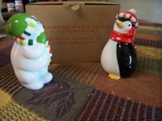 The More the Merrier Salt and Pepper Shakers by Avon