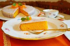 Mrkvový koláč s citrónovou polevou Gimme Some Sugar, Cheesecake, Sweet, Food, Lemon, Meal, Cheesecakes, Essen, Hoods