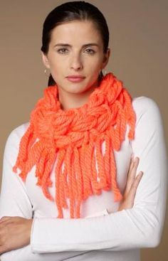 Best Free Crochet » Free Wrap & Knot Cowl Pattern from RedHeart.com #256 5/31/13