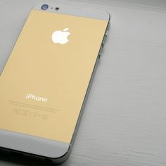 The rumored gold iPhone