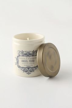 Angel Food Illume Boulangerie Jar Candle from Anthropologie. smells so good Black Mission Fig, Lavender Shortbread, Pumpkin Souffle, Orange Buttercream, Fresh Coffee Beans, Good Burns, Clove Bud, Large Candles, Candles