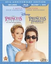 PRINCESS DIARIES 2-Movie Collection on Blu-ray Combo Pack TODAY!