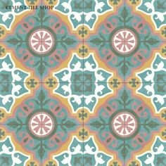 Cement Tile Shop - Handmade Cement Tile | Amalia