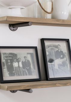 How to restore vintage photos, enlarge and frame them - Sugar and Charm #diy