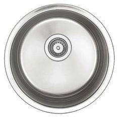 World Imports Undercounter Stainless-Steel 15-1/2 in. x 15-1/2 in. Single Bowl Round Entertainment Bar/Prep Sink BF209 at The Home Depot - Mobile