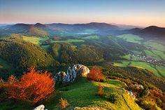 Slovakia, fall colors