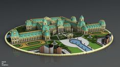 king's Copper is the royal palace of an imaginary. The Minecraft Map, King's Copper, was posted by Pittamaniak_. Minecraft Interior Design, Minecraft Architecture, Chinese Architecture, Futuristic Architecture, Minecraft Buildings, Minecraft Creations, Minecraft Projects, Minecraft Designs, Minecraft Castle
