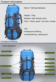 8 mejores imágenes de Trekking y Backpacking  d07a5af667eef
