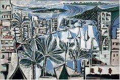 PICASSP(la baie de Cannes,1958