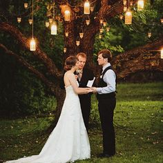 Love outdoor weddings :)