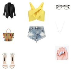 """Mate-os com bondade"" by smelyssa078 on Polyvore featuring Delpozo, LE3NO and One Teaspoon"