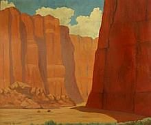 Barry Atwater (American, Riders in Canyon de Chelly (a pair) each 25 x Photo Sculpture, Value In Art, Unusual Art, Native American, Art Photography, Auction, Fine Art, Artist, Artwork