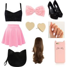 Untitled #11 by emmanuelak on Polyvore featuring polyvore fashion style Dolce&Gabbana Nly Shoes Forever 21 Kate Spade