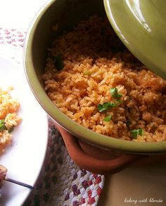Mexican Rice.  I LOVED this.  My husband said it was too cilantro-heavy.  He doesn't love cilantro the way I do.
