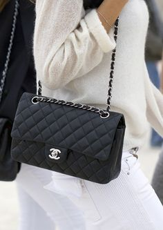 Chanel bag <3 it would take me like 5 paychecks to afford one but a girl can dream :)