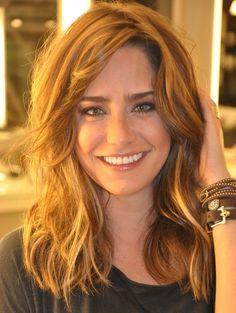 Amei o cabelo da Fernanda Vasconcelos - médio
